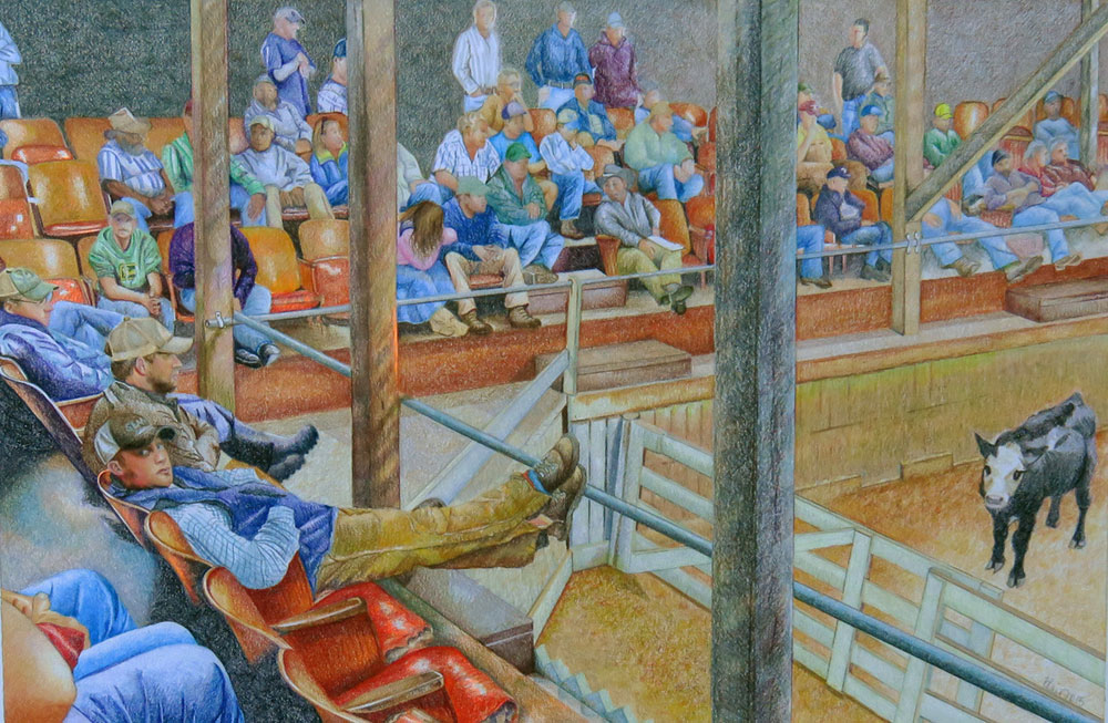 Cattle Auction ©Blair Jackson