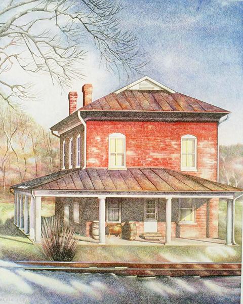 House By The Tracks ©Blair Jackson