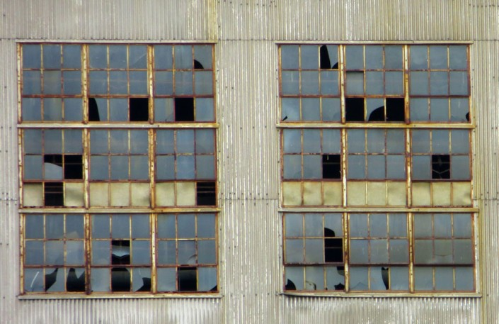 Broken Panes - Photo by Blair Jackson