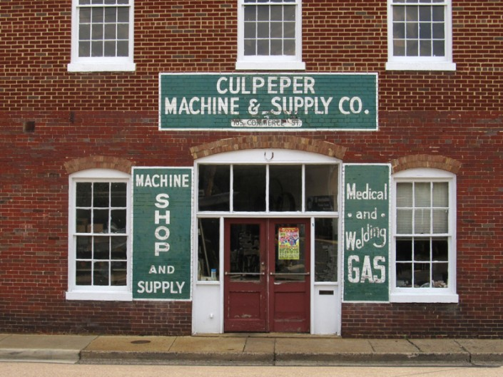 Culpeper Machine& Supply - Photo by Blair Jackson