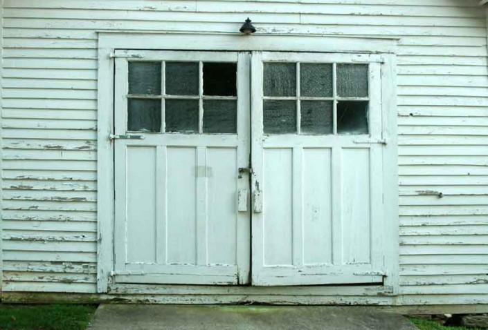 Garage Doors - Photo by Blair Jackson