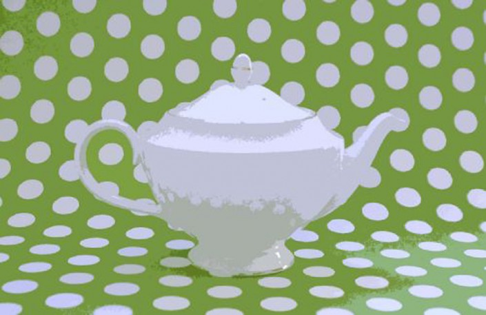 Go Green Teapot - Photo by Blair Jackson
