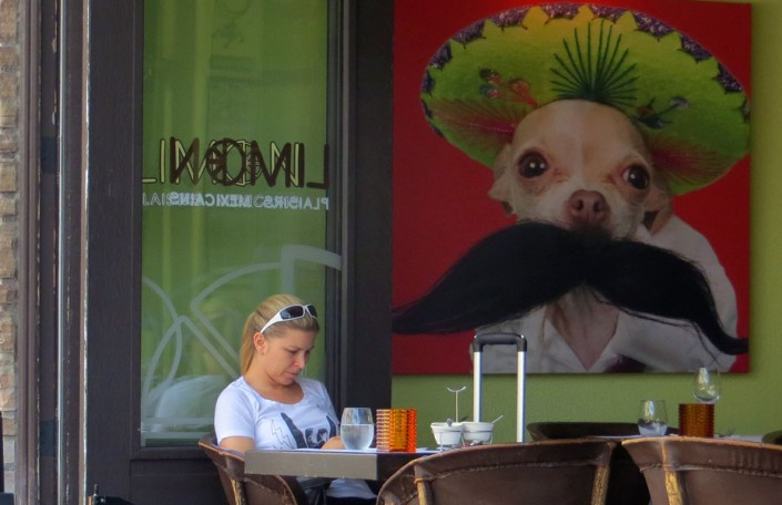 Mexican Lunch - Photo by Blair Jackson