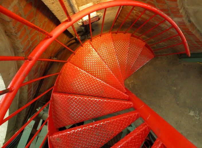 Red Spiral - Photo by Blair Jackson