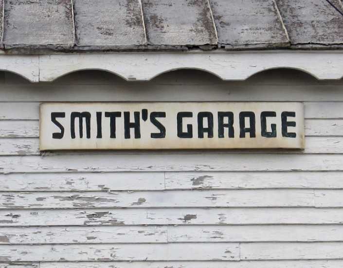 Smith's Garage - Photo by Blair Jackson