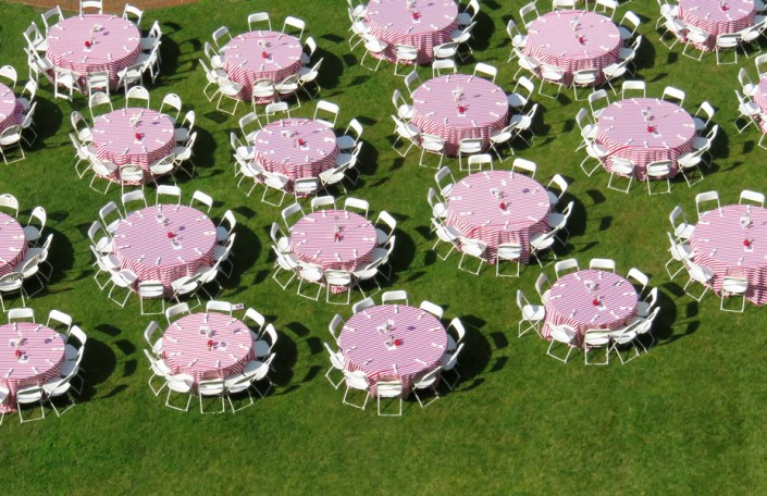 Table Patterns - Photo by Blair Jackson
