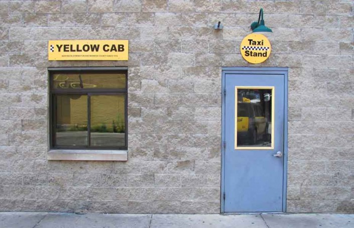 Taxi Stand - Photo by Blair Jackson