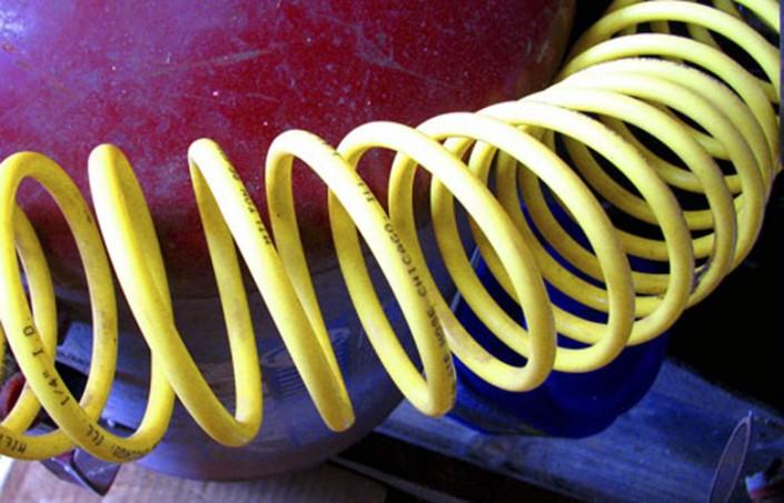 Yellow Spiral - Photo by Blair Jackson